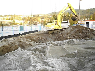 Excavation – Drainage, Grading commercial landscaping