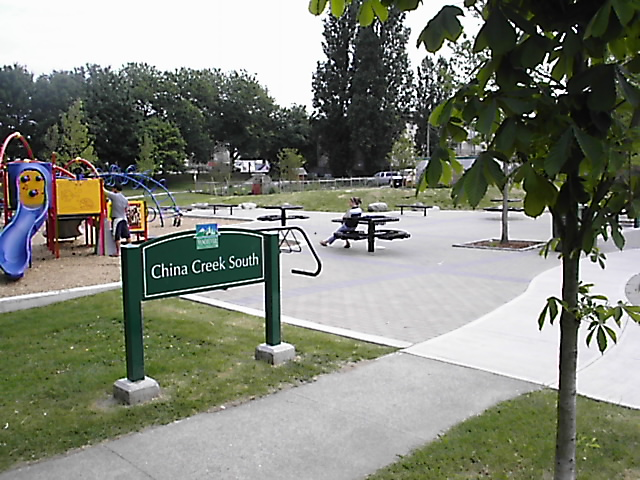 china creek park -- commercial landscaping