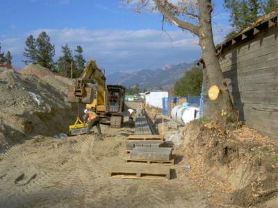 Excavation & Drainage header
