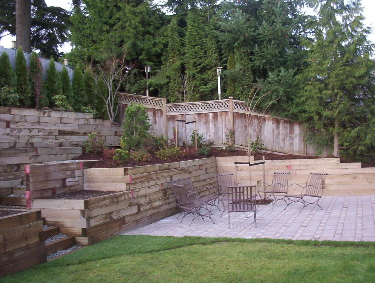 Residential Landscaping - Retaining Walls