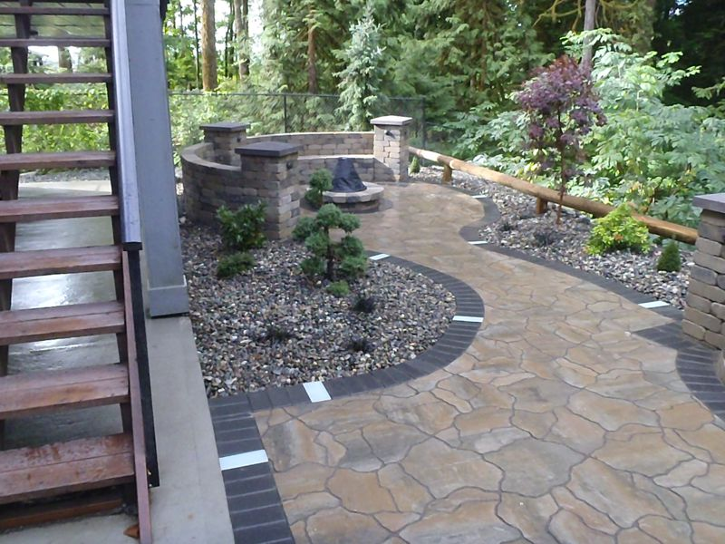Residential Landscaping - Water Features, Paving Stones
