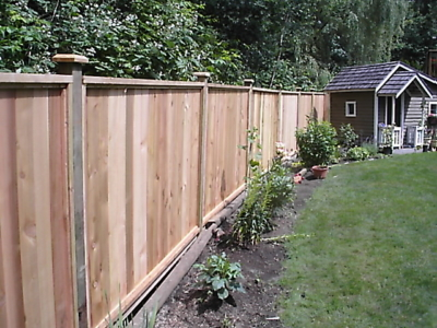 Residential Landscaping - Fencing