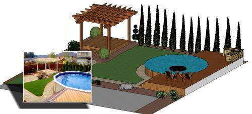 landscape design services keith