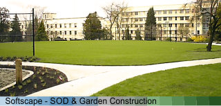 Fuller Landscaping sod and garden image